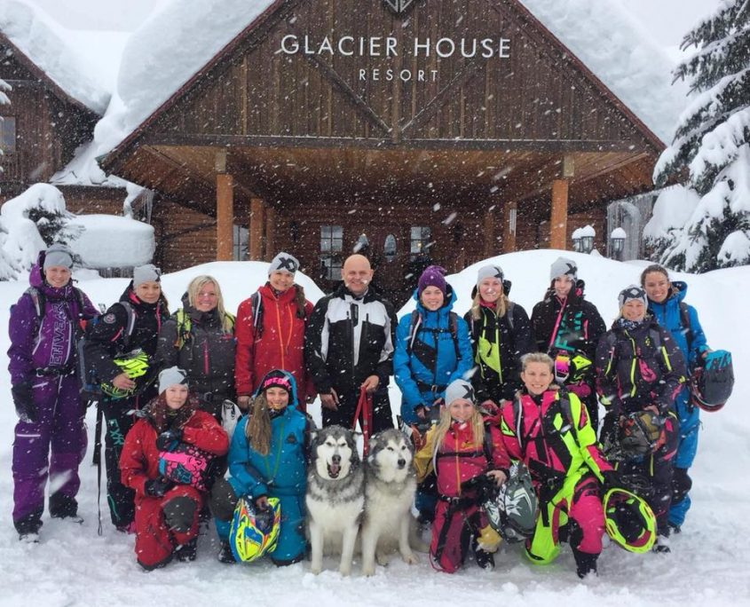 @Glacier House in Revelstoke