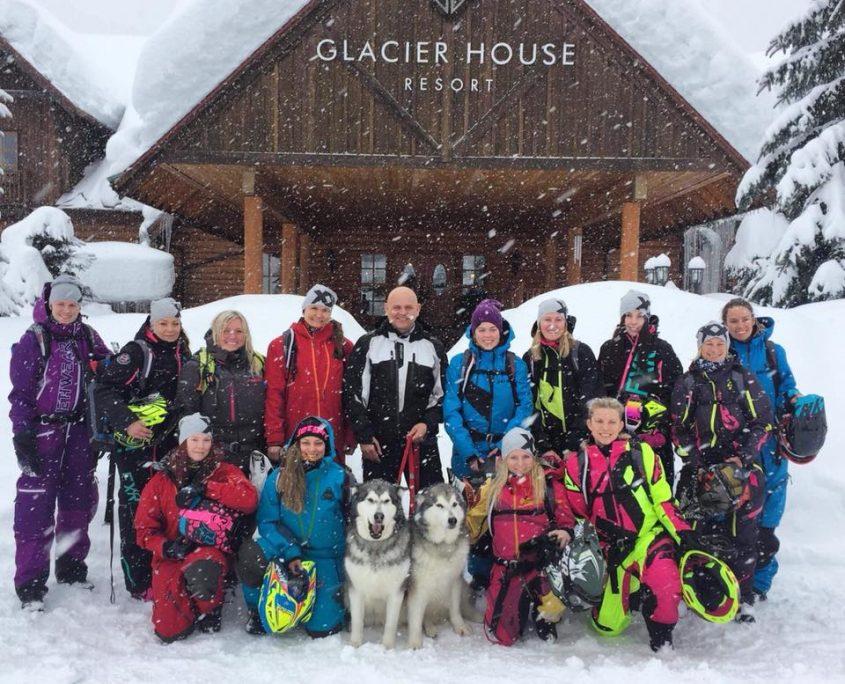 @Glacier House in Revelstoke