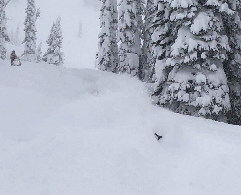Snowconditions!